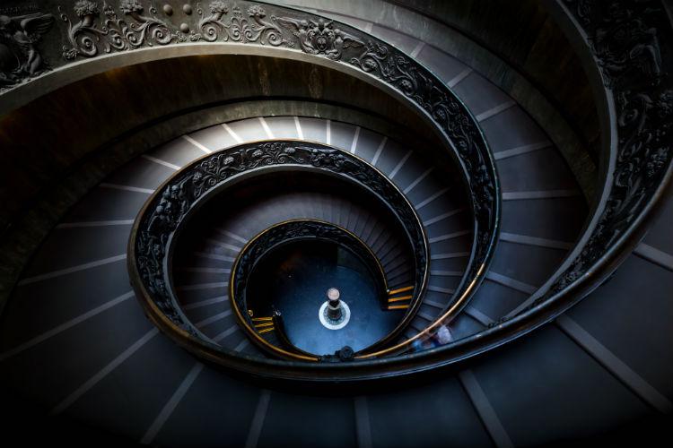 line upon line precept on precept, added upon, spiral upwards
