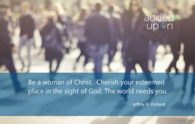 we are all different. the world needs women of christ