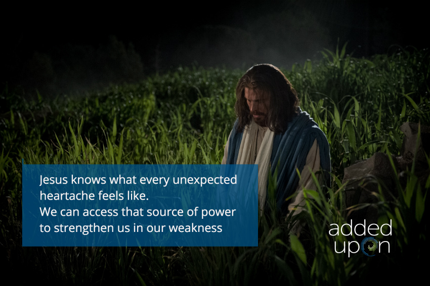 jesus turns weakness to strength