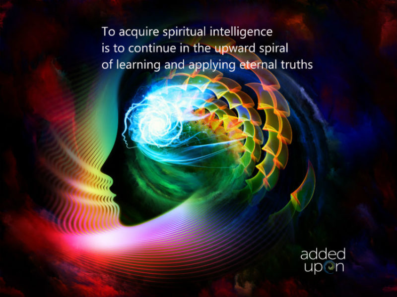 spiritual intelligence SQ spiral upward