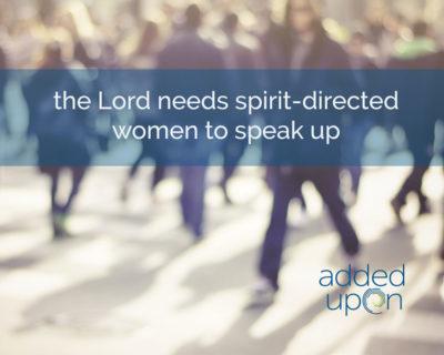 find your voice speak up