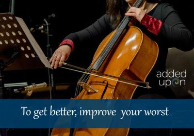 Improve your worst