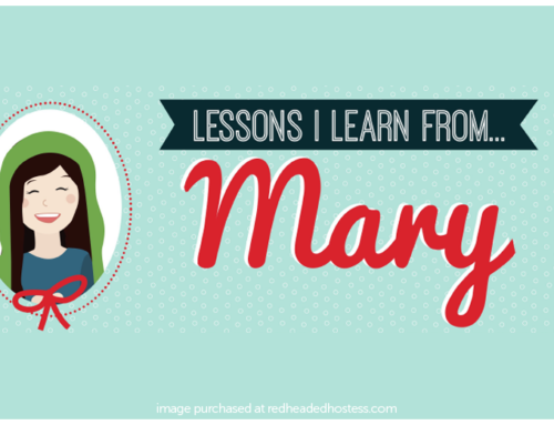 Lessons I Learn from Mary