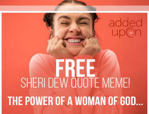 USE ME: Woman of God Sheri Dew Quote
